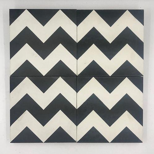 8*8 Chevron Cement Tile