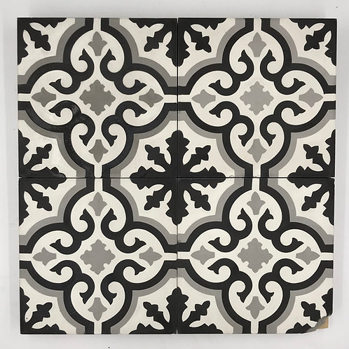 8*8 Floresca Classico cement tile