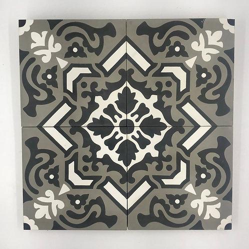 8*8 Dhalia Cement Tile