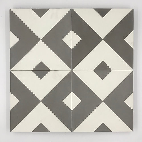 8*8 Frame cement tile