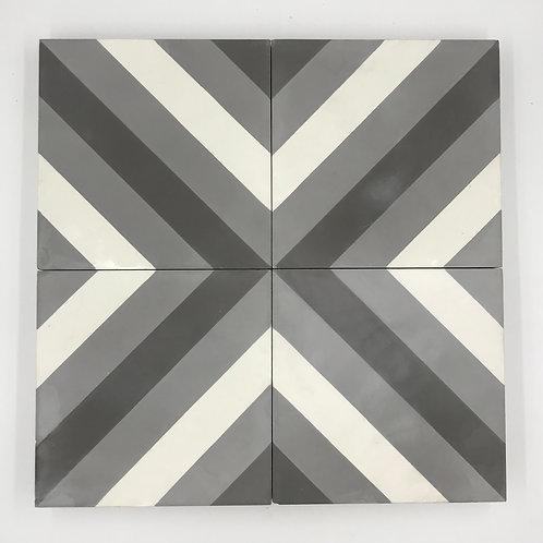 8*8 Arrow 1 cement tile