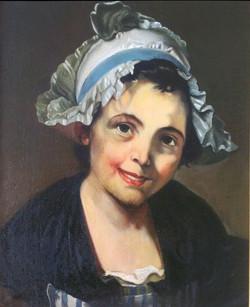 Kopie van een Franse kunstschilder