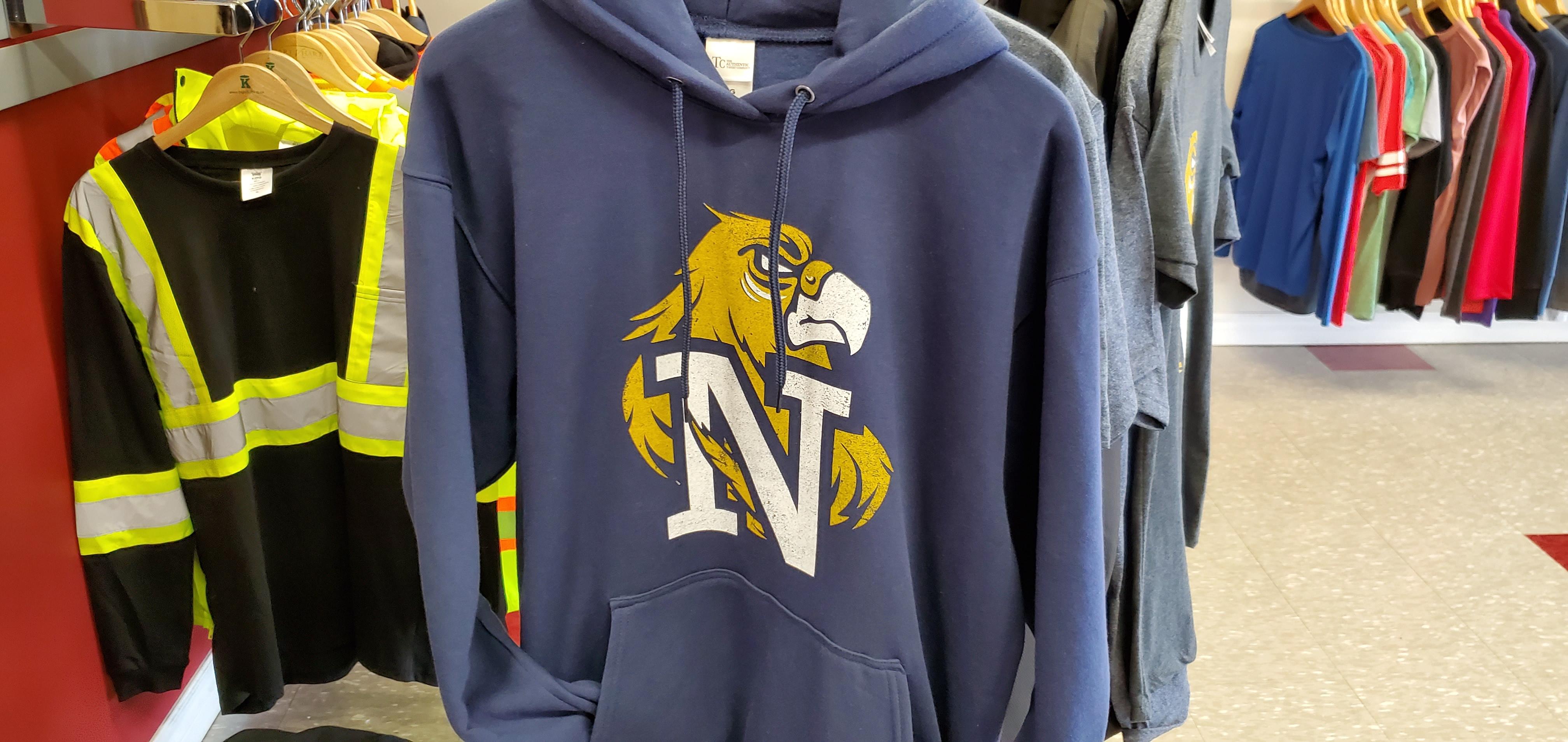 Hoodie with custom school branding
