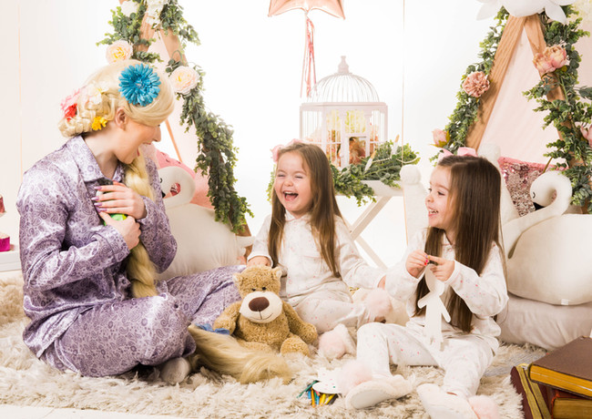 Once Upon A Wish Events Slumber Parties