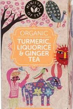 Ginger and Liquorice Tea