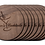 Thumbnail: Stained Walnut Wooden Engraved Coaster