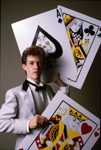 Magician S. Gary Sutherland