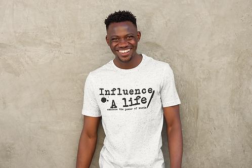Influence A Life Reg MALE T-Shirt