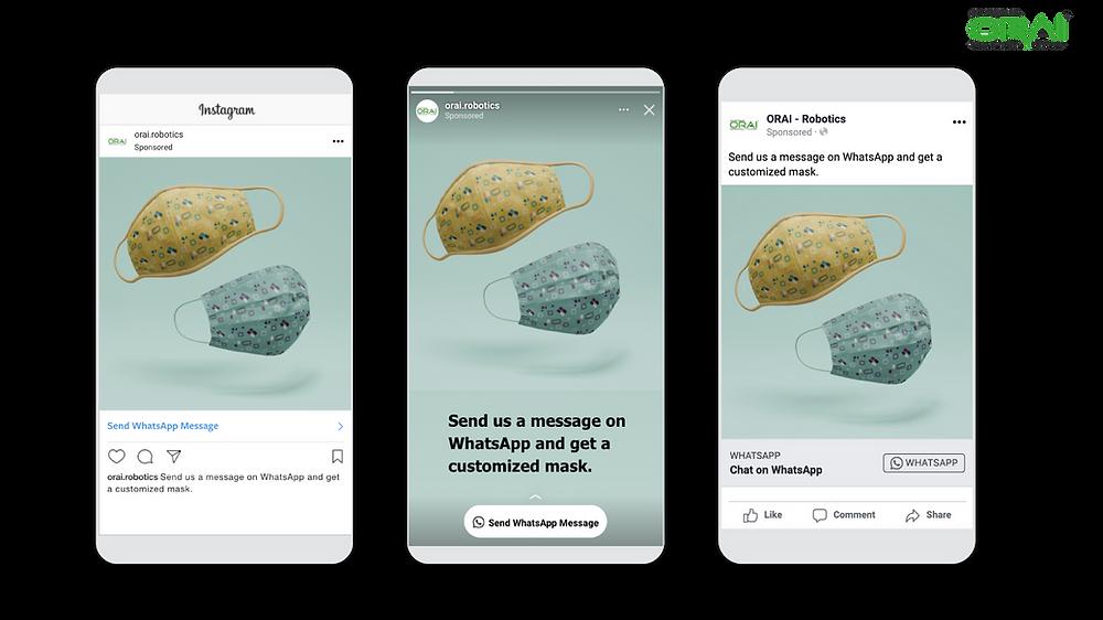 ORAI's Conversational AI platform can help in increasing sales through conversational ads