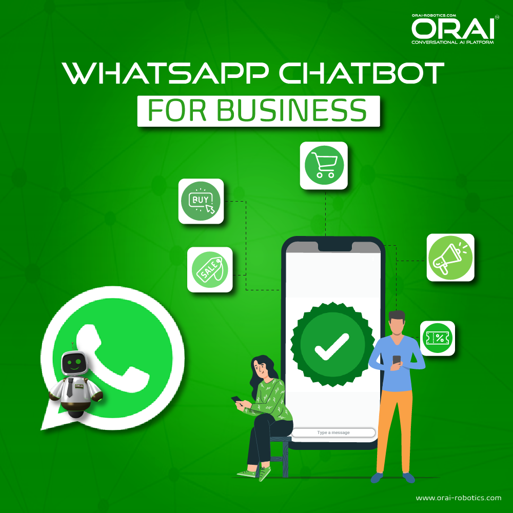 ORAI's blog on WhatsApp chatbot for business