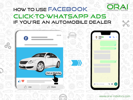 How To Use Facebook Click-to-WhatsApp Ads If You're An Automobile Dealer