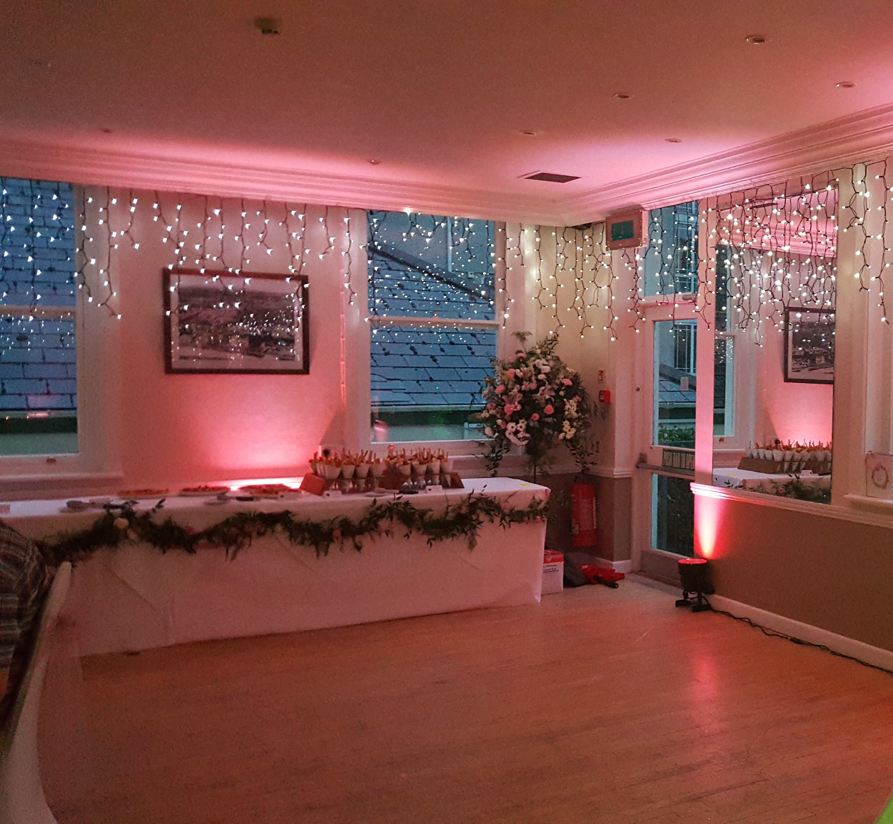 ASY Cornwall Wedding Uplighting 2
