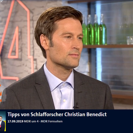 Our PI on the German news!
