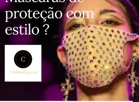 Máscaras com estilo e design fashion valem para proteção de contágio de doenças ?