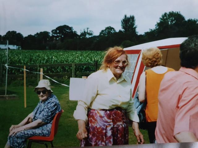 Historical archive- Sandon Fete in 1988