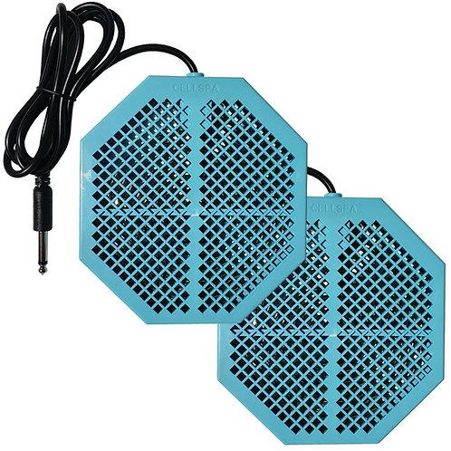 "Cell Spa 2 Pack CS-900 Twice Powerful 6.5"" x 5.5"" Ion Detox Foot Bath Arrays"