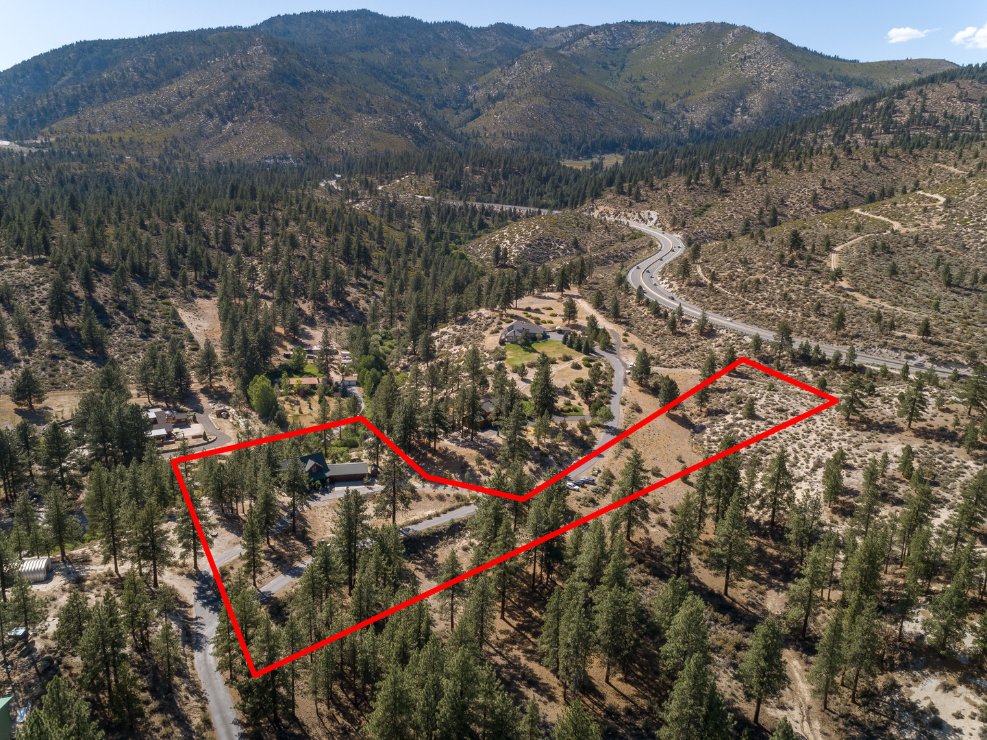 4680 Old Clear Creek Road.Lot Boundaries