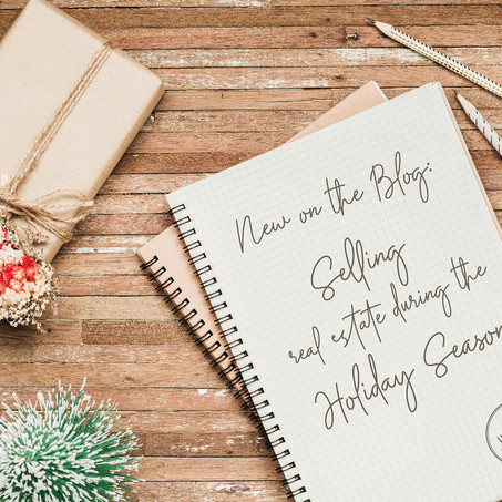 Selling Real Estate, During the Holiday Season