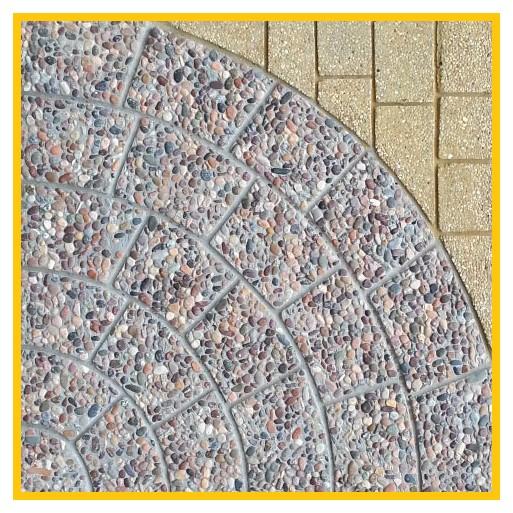 Circulo Porotito 50x50x4cm