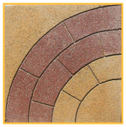 Circulo Fulget 50x50x4cm