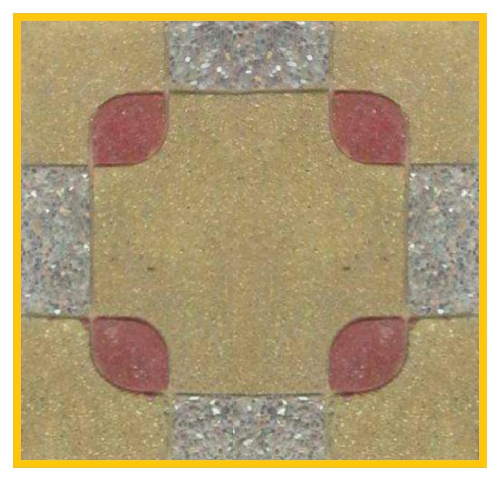 Chino Fulget 50x50x4cm