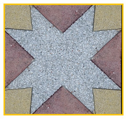 Estrella Cuarzo 50x50x4cm