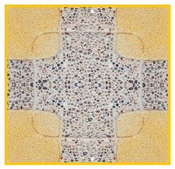 Cruz Porotito 50x50x4cm