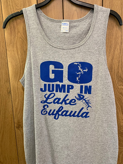 Lake Life Jump In Men's Tank