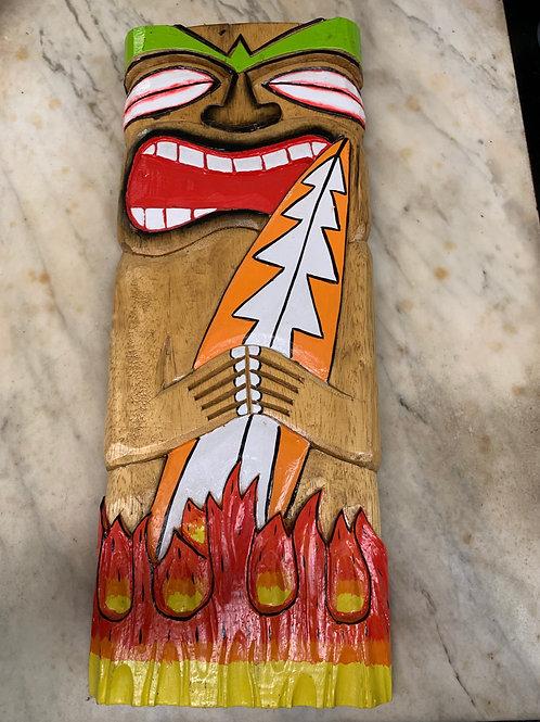 Wood Tiki Sign