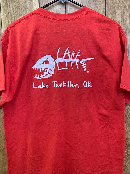 Lake Tenkiller Basic Lake Life T-shirt