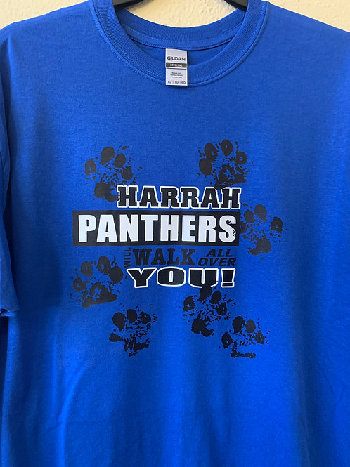 Harrah Panthers walk all over you design