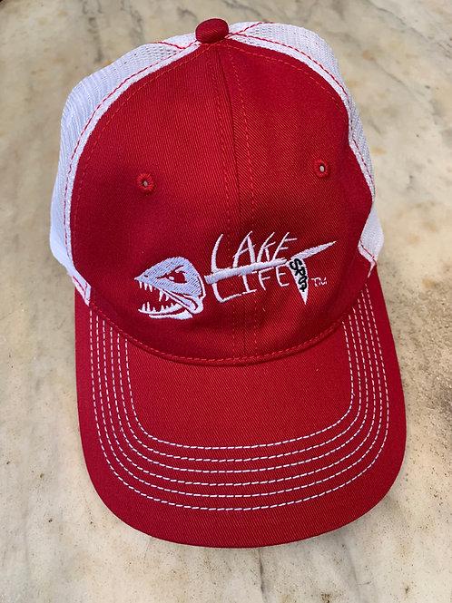 Lake Life Embroidered Mesh Back Hat DT607