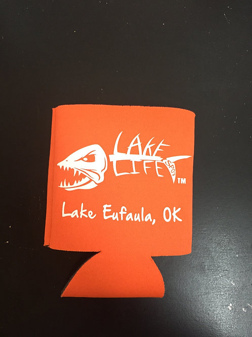 Orange Lake Life Koozies