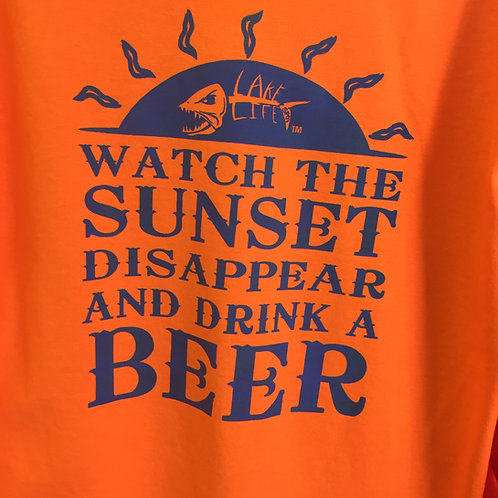 Lake Life Sunset Long-Sleeve