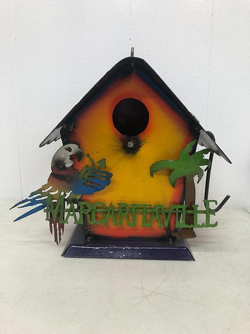 Metal Margaritaville Birdhouse