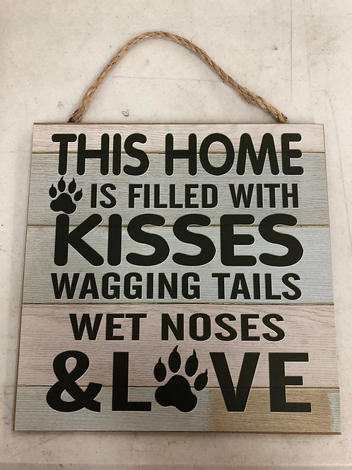 Kisses, Tails, Noses, Love Sign