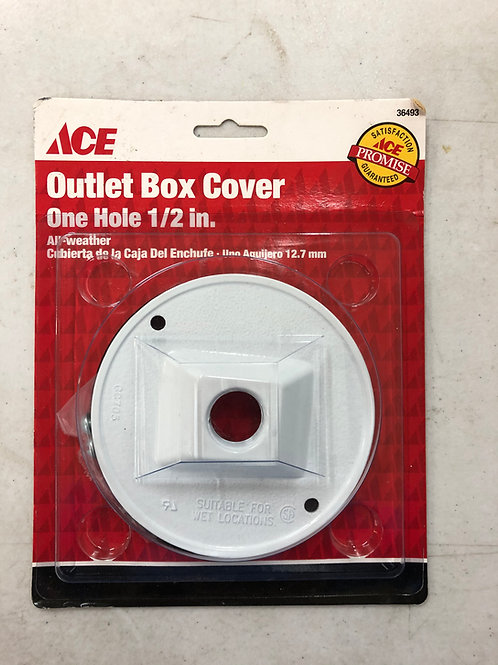 ACE All Weather Round Outlet Box Cover 36493