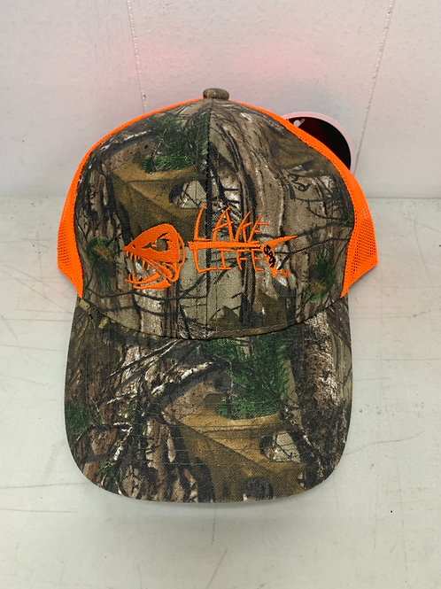 Camouflage Embroidered Mesh Back Cap C930