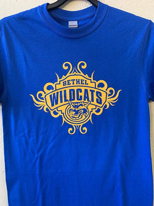 Bethel Wildcats tribal design