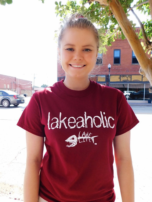 Lakeaholic Lake Life T-shirt