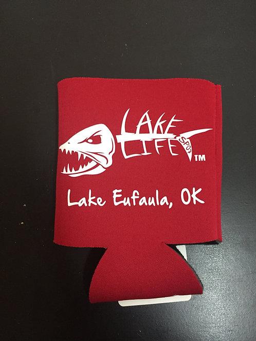 Red Lake Life Koozies