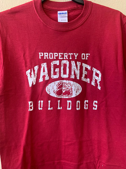 Wagoner Bulldogs distressed
