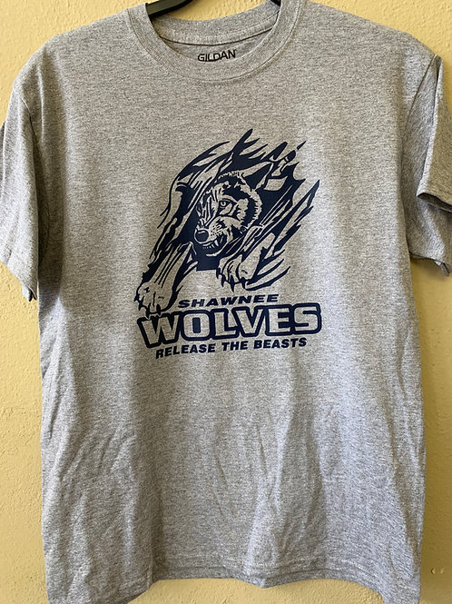 Shawnee Wolves release the beasts design