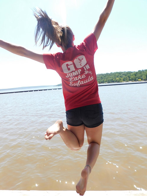 Lake Life Jump In T-shirt