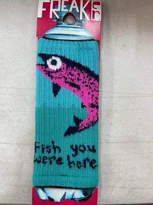 Fish You Were Here Freaker Koozie