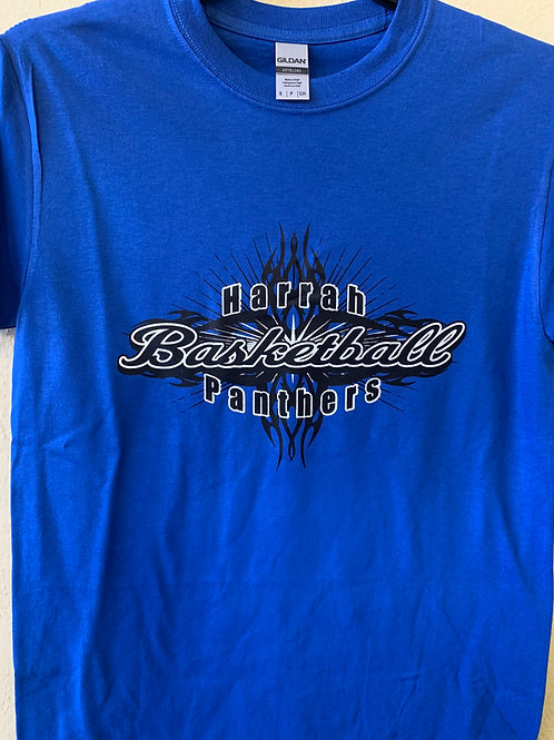 Harrah Panthers basketball design