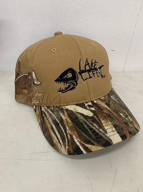 RealTree Embroidered Bass Lake Life Hat C820