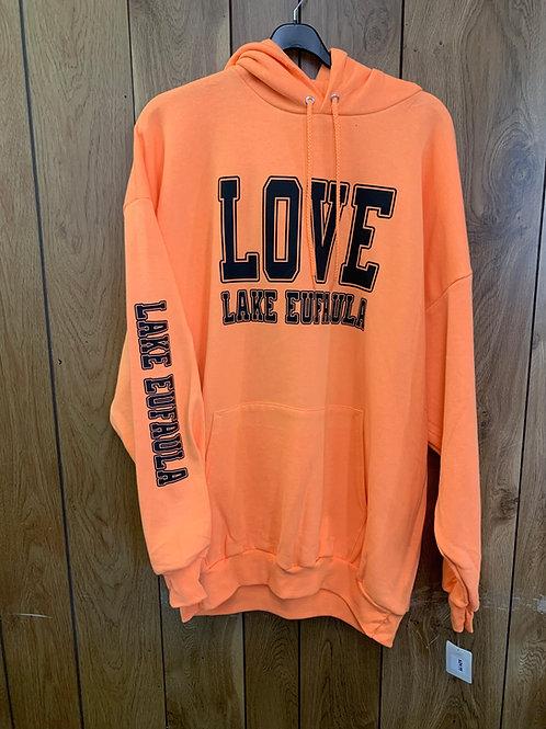 Love Lake Eufaula Hoodie