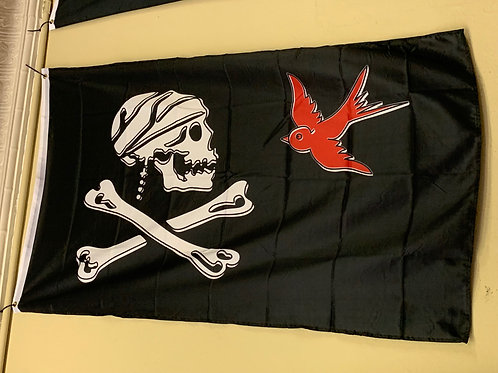 Pirate Sparrow Flag