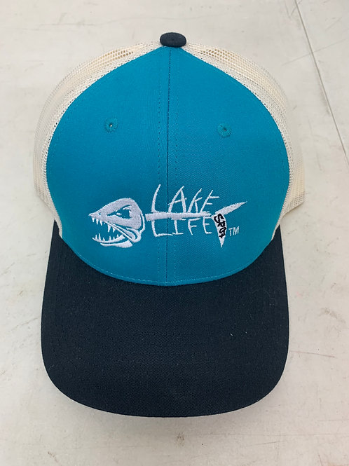 Richardson Embroidered Low Pro Trucker Hat 115